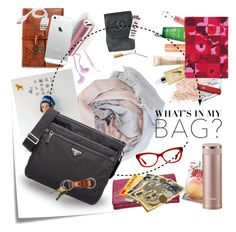 """What's in my bag ?"" by straylittle ❤ liked on Polyvore featuring art"