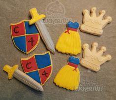 Atelier Zuckersüss: Knights and princesses cookies