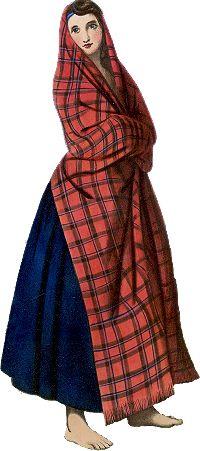McIan's portrait of a Sinclair woman.