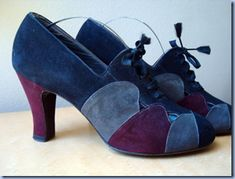 love the color combination. I wish they weren't vintage so I could buy them new in my size.