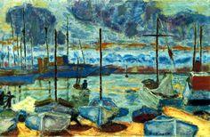 1927, Le port de Cannes - Pierre Bonnard