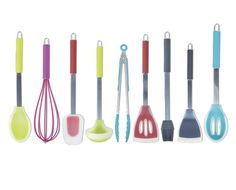 Silicone Kitchen Utensils - each, red for meat green for veg! Silicone Kitchen Utensils, Kitchen Tools, Meat, Green, Diy, Station Wagon, Cutlery, Diy Kitchen Appliances, Kitchen Gadgets