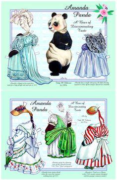 Amanda Panda by Judy M Johnson