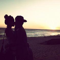 Segunda parte das fotos na praia o/                                         =
