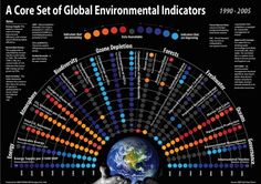 A core set of global environmental indicators