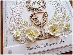 hania739: Pamiątka I Komunii Św. Frame, Home Decor, First Holy Communion, Cards, Picture Frame, Decoration Home, Room Decor, Frames, Hoop