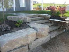 Resultado de imagem para retaining wall natural stone