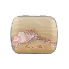 Elegant Beach Wedding Favour Candy and Mints