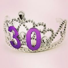 Birthday Tiara Adult Party 30th Parties Decorations