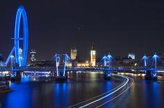 London from Waterloo bridge by Jakub Racek, via 500px
