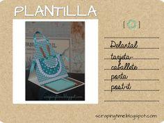 plantilla delantal