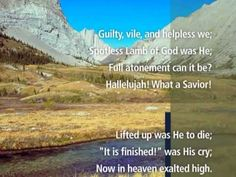 Hallelujah, What a Savior (With Lyrics) - Visual Worship !