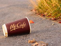 McDonald's will ditch polystyrene for paper coffee cups #packaging #environment