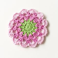 A crochet pattern for spring delicate flower coasters – Best Knitting 2020 Homemade Valentines Day Cards, Valentine Day Cards, Flower Granny Square, Granny Squares, Handmade Gifts For Him, African Flowers, Knitted Headband, Crochet Flowers, Diy And Crafts