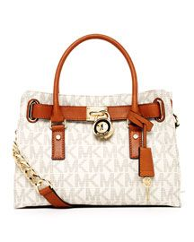 Michael Kors Classic Monogram Large Brown Totes Outlet Blake Pinterest And Fashion Street Styles