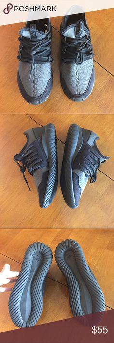 Adidas NWOT adidas tubular. Grey and black size 7 adidas Shoes Sneakers