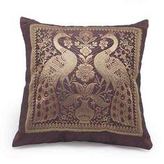 Brocade Pattern Assorted 5 Pcs. Cushion Covers Set 510