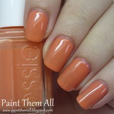 Paint Them All: Essie Professional - Resort Fling Nail Inspo, Essie, My Nails, Swatch, Nail Polish, Paint, Enamels, Picture Wall, Nail Polishes