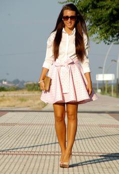 The Trendy 30: Below the knee skirts
