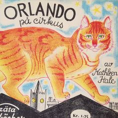 Orlando the marmalade cat World Cat Day. When it comes to cats, it's Orlando! Kathleen Hale's wonderful creation and enjoyed here in a rare Danish edition of the Puffin Picture Book, Orlando's Home Life. World Cat Day, Book Jacket, Penguin Books, Children's Literature, Children's Book Illustration, Vintage Illustrations, Cat Drawing, Cat Art, Childrens Books