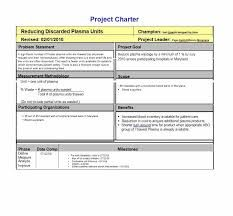 Project Charter Example  New Product Launch  Project Management