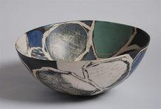 Seamoods Deep Rocking Bowl / Ceramic // Carolyn Genders