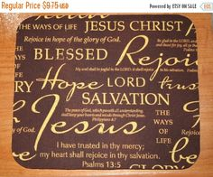 SALE  Computer Mouse Pad / Mat  Christian Inspirational by Laa766 chic / cute / preppy / fabric / patterned / accessories / for you, co-worker or school gifts / home, office decor