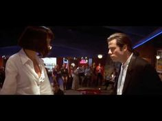 chuck berry - you never can tell from pulp fiction with john travolta & uma thurman Dance Scene HQ Pulp Fiction, Quentin Tarantino, Uma Thurman Dance, Breaking Bad, Dance Videos, Music Videos, You Never Can Tell, The Blues Brothers, Dance Like No One Is Watching