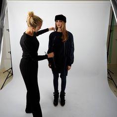 Backstage shot from our fotoshoot #jutka&riska