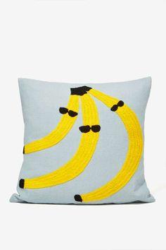 Aelfie Go Bananas Pillow