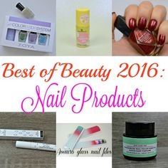 Best of Beauty 2016: Nail Products. Check out my favourite nail products from 2016.