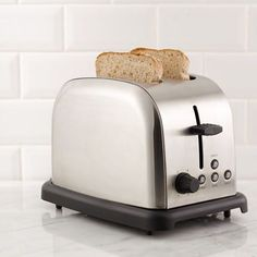 Constructed of stainless steel, the thinkkitchen Minotti 2-slice Toaster will toast your bread to perfection everytime. Perfect for bagels, english muffins, breads, and more, this handy toaster auto-adjusts to suit any thickness of bread.  #thinkkitchenme #homemade #cooking #foodstagram#instapic #kitchenware #kitchen #kitcheninspiration #kitcheninspo #culinary #cookware#kitchentools  Yummery - best recipes. Follow Us! #kitchentools #kitchen