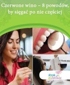 Czerwone wino - 8 powodów, by sięgać po nie częściej Czerwone wino to jeden z najczęściej spożywanych napojów alkoholowych na świecie. Wino ma także wiele właściwości zdrowotnych.