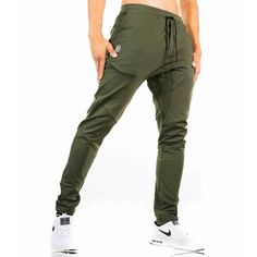 2018 Autumn new mens cotton Sweatpants gyms Fitness workout solid trousers  male Casual fashion Pencil Pants Joggers sportswear 51b32faa5be