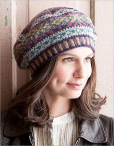 My daughter would love this hat.  File under Knitting projects I should explore.