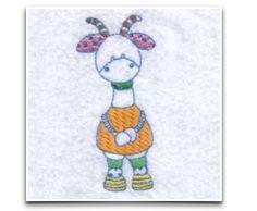 Free Embroidery Design: Farm Friend