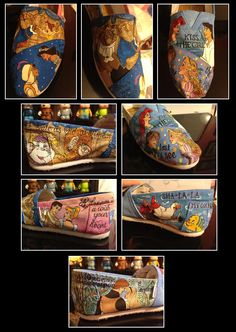 Custom Hand-Painted Shoes for Jordan R.