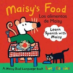 La primera amiga de todos los ninos! For the first time, four classic Maisy toddler titles are available in dual Spanish-English editions. Young children are invited to meet Maisys favorite animals, c
