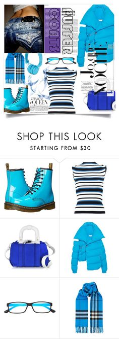 """""""Untitled #1168"""" by forkelly1 ❤ liked on Polyvore featuring Dr. Martens, Dolce&Gabbana, Carven, Marques'Almeida, Rock Revival, Select-A-Vision, Burberry and Urbanears"""