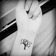 Image result for small tree tattoos