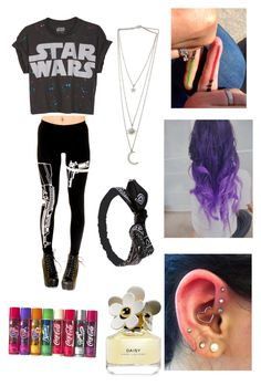 """""""Star wars✨"""" by sfalta ❤ liked on Polyvore featuring Marc Jacobs and Wet Seal"""