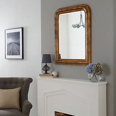 Buy Brissi Hampshire Mirror, 87 x 72cm Online at johnlewis.com 165 A good option