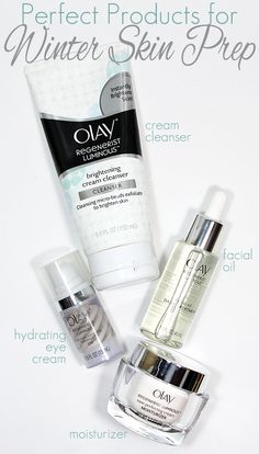 Olay Regenerist Luminous Skincare Products are PERFECT for your Winter Skin Prep!