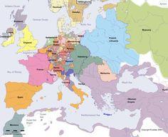 Europa w 1600 r