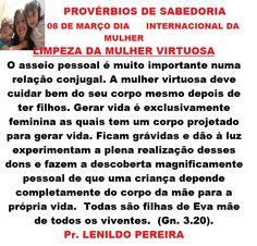 LIMPEZA DA MULHER VIRTUOSA