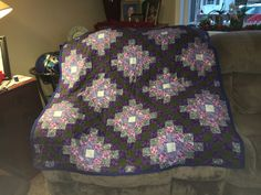 Quilt (mom did top)