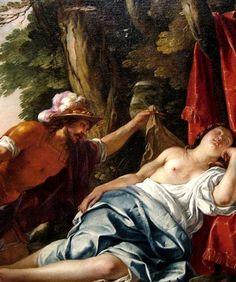 Jacques Blanchard - Mars and the Vestal.