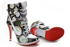 Black White Red Nike High Heels 2013 --- I Would So Wear These!!!