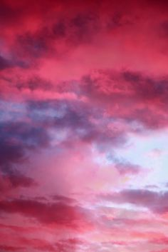 Free sunset flamingo pink colorful clouds texture for layers | by Pink Sherbet Photography