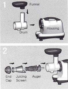 omega j8006 assembly juicers - Omega Juicers